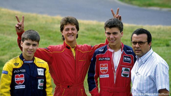 Michael Schumacher Kart-Training, Kartbahn Kerpen-Manheim, 1988