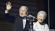 Final New Year's address by Emperor Akihito Japan Neujahr