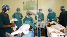 Simbabwe Ärzte Krankenhaus Operation Röntgen