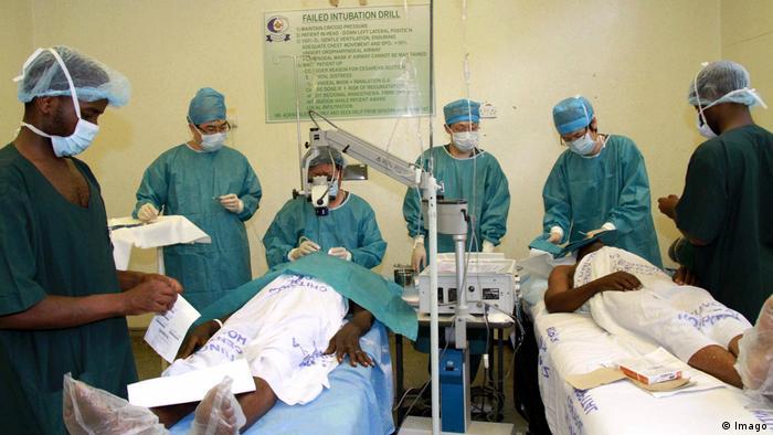 Operasi katarak dengan menggunakan Sinar X