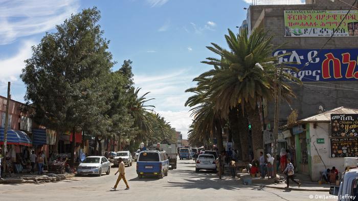 Äthiopien Mekele Situation der Eritrea-Flüchtlinge (DW/James Jeffrey)