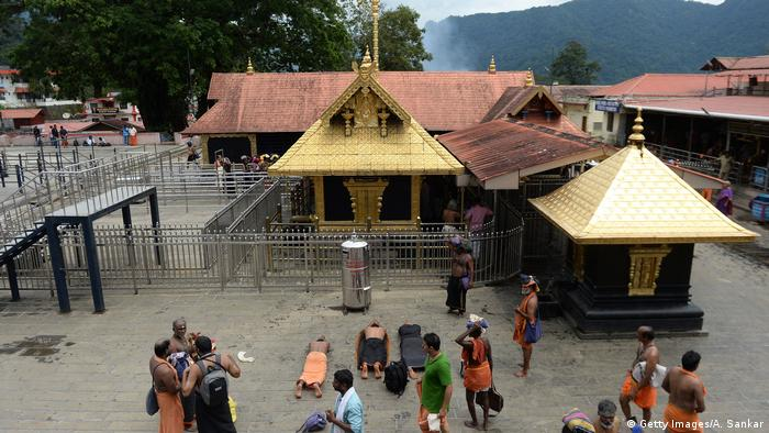 Sabarimala temple in India
