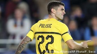 Borussia Dortmund Christian Pulisic, Fußballspieler