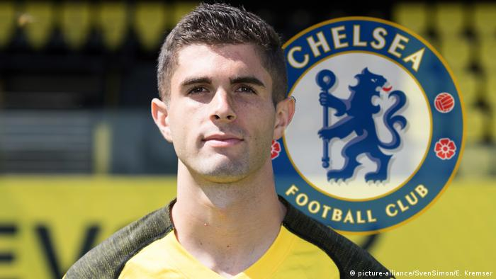 Borussia Dortmund Christian Pulisic, Fußballspieler (picture-alliance/SvenSimon/E. Kremser)