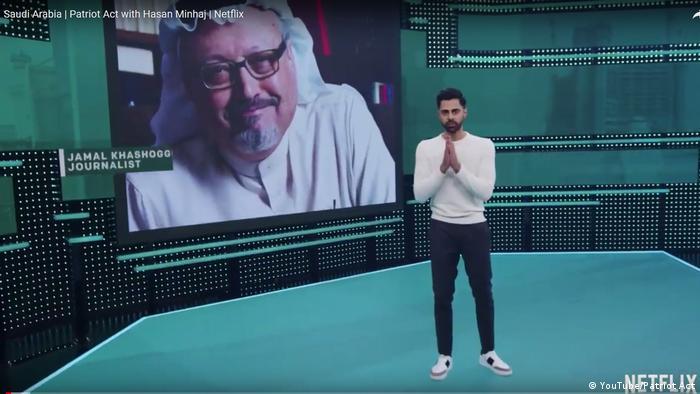 Amnistía Internacional (AI) denunció que Netflix eliminó capítulo de programa para el público saudí en el que se aborda asesinato de Jamal Khashoggi. Según AI, Netflix ayuda así a negar libre acceso a la información. 02.01.2019