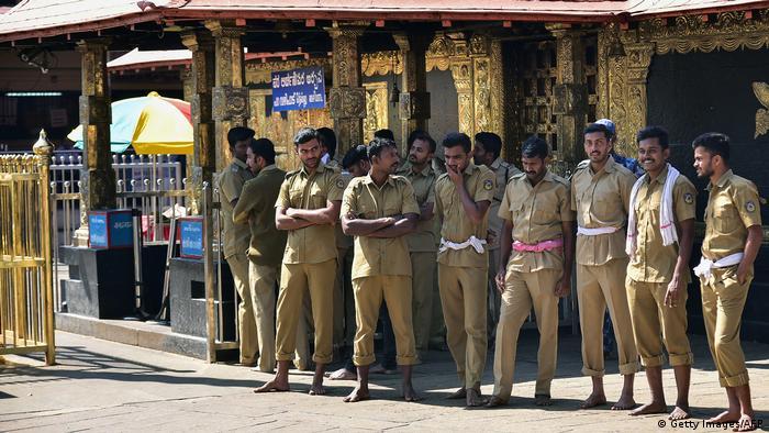 Indien Sabarimala-Tempel Protest