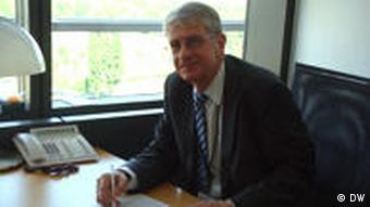 Historiker und ehemaliger Europaparlamentarier Wojciech Roszkowski (Foto: DW/Justyna Bronska)