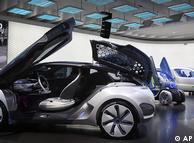 2009年法兰克福车展上的雷诺电动概念车