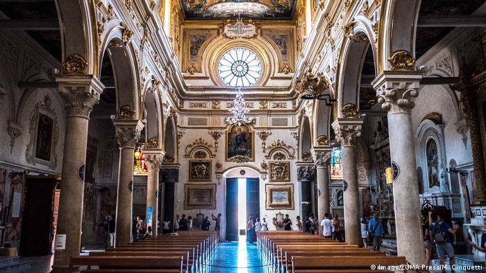В кафедральном соборе Матеры