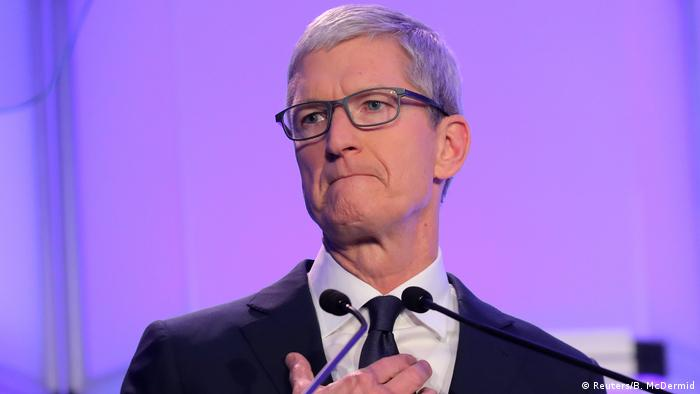 USA Apple-CEO Tim Cook in New York