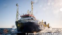 Mittelmeer Rettungsaktion von Sea-Watch