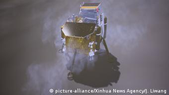 Mondsonde Chang'e-4 (picture-alliance/Xinhua News Agency/J. Liwang)