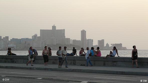 Der Malecón in Havanna Flash-Galerie