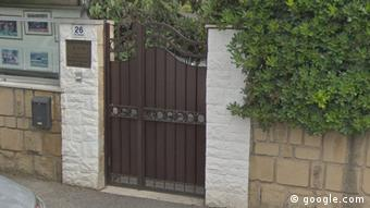 The entrance to the North Korea Embassy in Rome (google.com)
