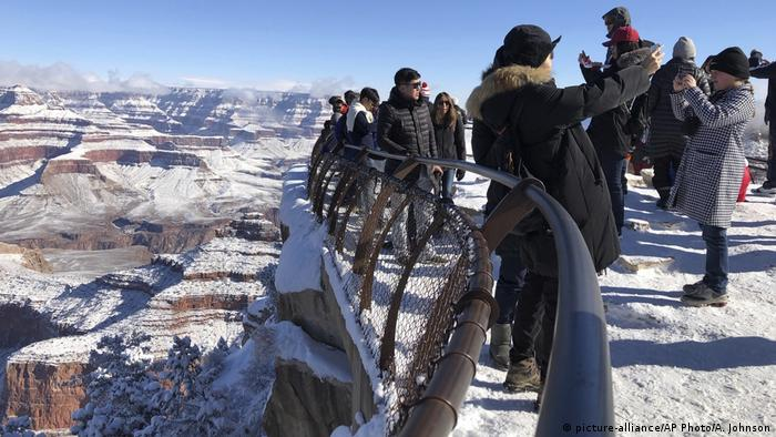 USA Grand Canyon Nationalpark (picture-alliance/AP Photo/A. Johnson)