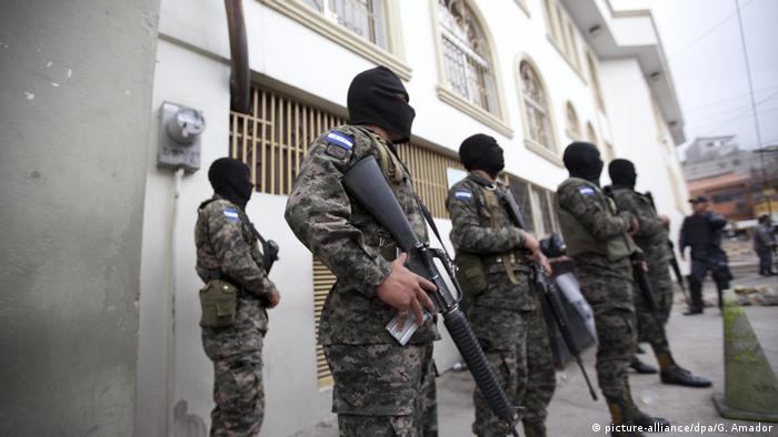 Honduras, represión contra activistas.