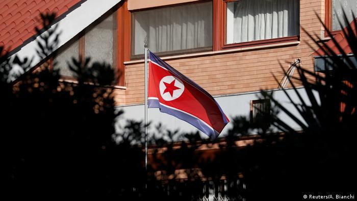 Italien Botschaft von Nordkorea in Rom