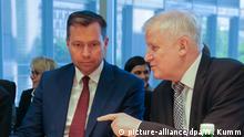 CSU Seehofer (R) und Mayer