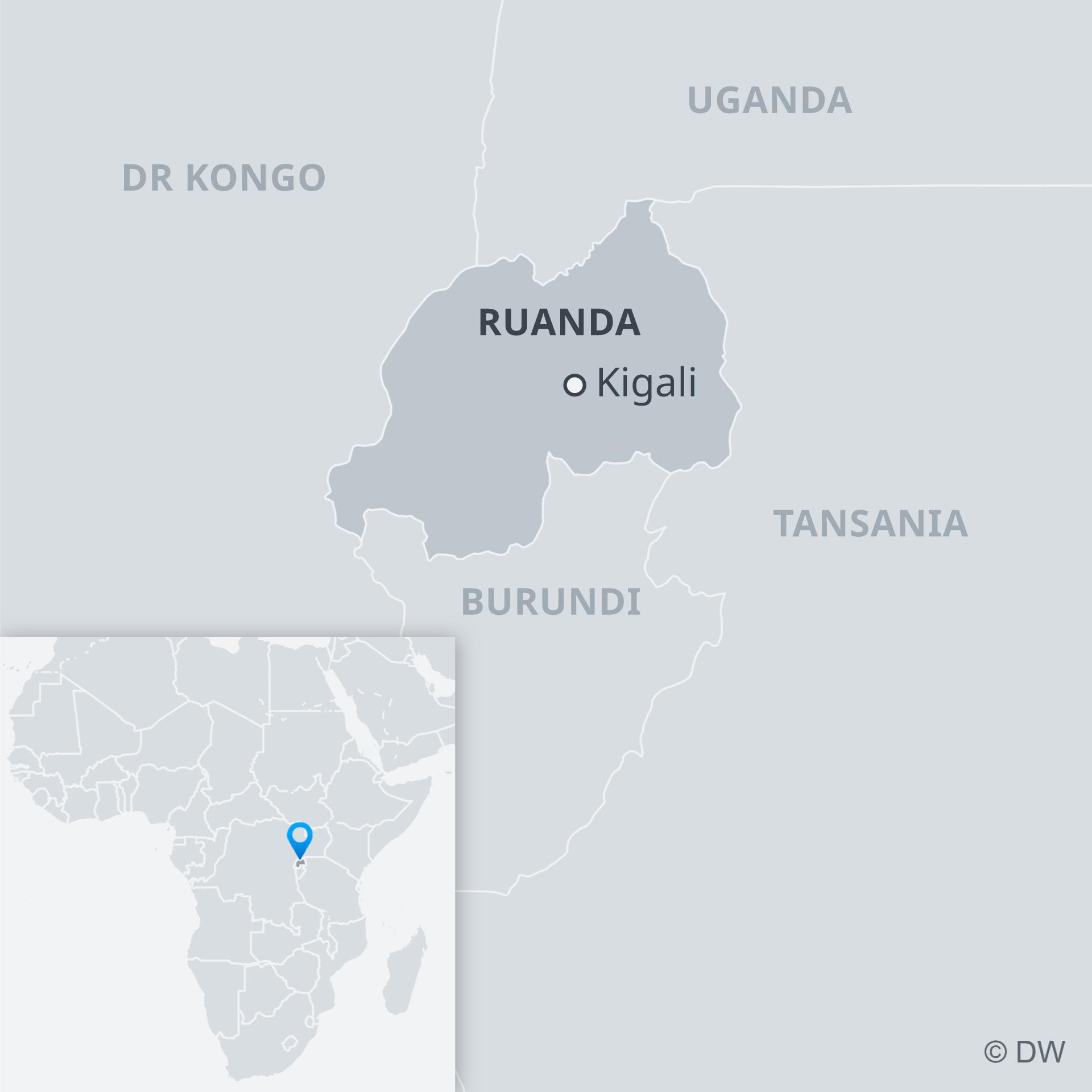 Ruanda i susjedne zemlje