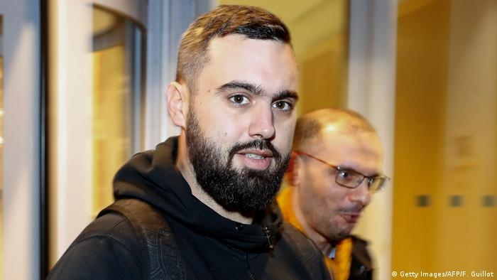 O francês Éric Drouet, um dos líderes dos protestos dos coletes amarelos