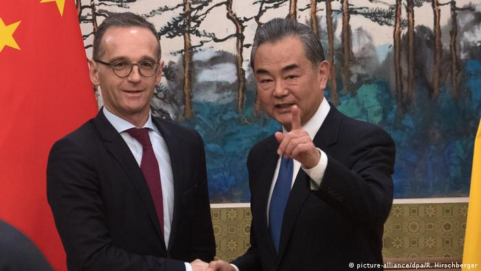China | Außenminister Maas und Wang Yi