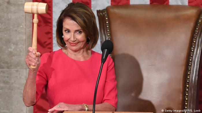Nancy Pelosi: ″Auf einer Stufe mit dem Präsidenten″ | Amerika - Die  aktuellsten Nachrichten und Informationen | DW | 27.01.2019