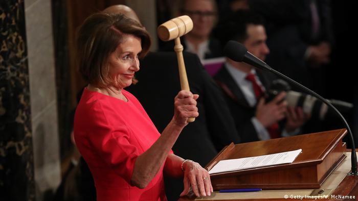 Washington Kongress konstituierende Sitzung Pelosi (Getty Images/W. McNamee)