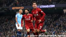 Premier League Manchester City v Liverpool