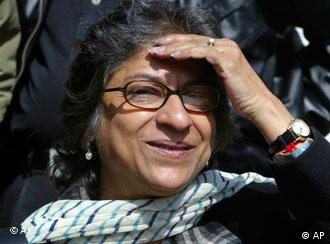 Leading Pakistani human rights activist Asma Jahangir