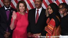 US-Kongress Muslima Omar leistet Eid auf Koran
