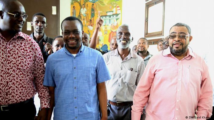 Zitto Kabwe, Joran Bashange und Salim Abdalla Biman