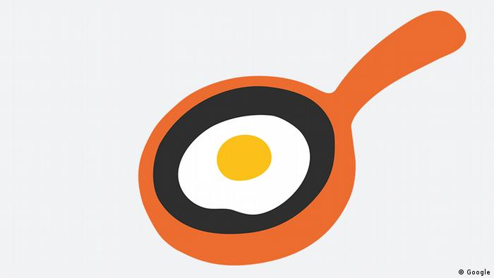 Emoji of a pan with a fried egg (Google)