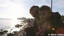 Türkei - Cengiz Akbaba mit seinem Sohn Miraz aus Istanbul