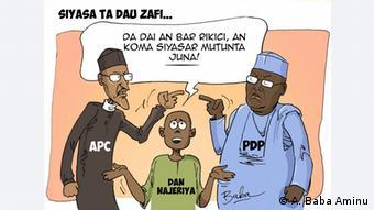 Karikatur: Nigeria Politik (A. Baba Aminu)