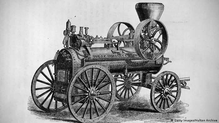 Portable Dampfmaschine