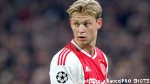 Ajax Amsterdam Frenkie de Jong (picture-alliance/PRO SHOTS)