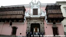 Peru Lima Torre Tagle Palast Außenministerium