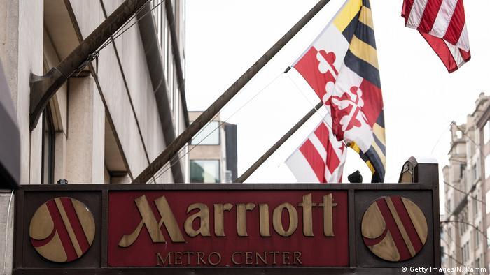 Marriott Hotel in Washington, DC (Getty Images/N. Kamm)