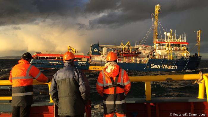 Malta Flüchtlingsrettungsschiff Sea-Watch 3