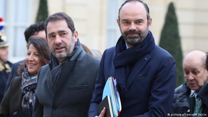 Frankreich, Edouard Philippe und Christophe Castaner