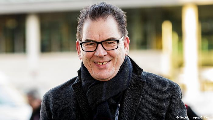 Deutschland Entwicklungsminister Gerd Müller, CSU in Berlin