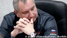 Russland Dmitry Rogozin, Generaldirektor Roscosmos