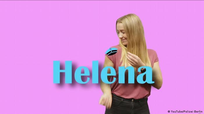 Abertura do blog de vídeo Einfach Helena