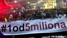 Belgrad Anti-Regierungsproteste