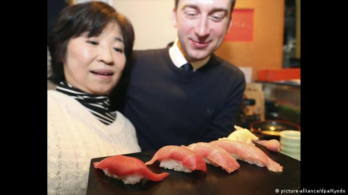 Tuna auction in Tokyo (picture alliance/dpa)