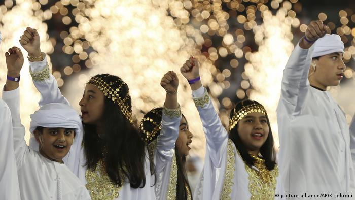 در مراسم افتتاحیه مسابقات جام ملتهای آسیا ۲۰۱۹ کودکان و نوجوانان نیز حضوری پررنگ داشتند.
