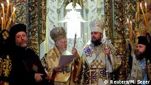 Türkei - Patriarch erkennt ukrainische Kirche an