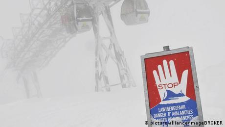 У німецьких Альпах - другий найвищий рівень небезпеки сходження лавин