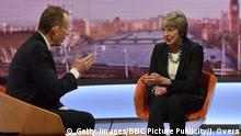 UK Premierministerin Theresa May bei Andrew Marr BBC