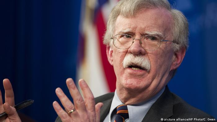 USA John Bolton (picture alliance/AP Photo/C. Owen)